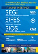 XI International Biennal Meeting  1° Joint Meeting SEGI - SIFES - SIOS