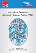International Course on Abnormally Invasive Placenta (AIP)