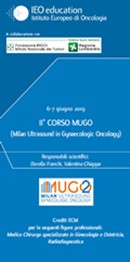 II° CORSO MUGO (Milan Ultrasound in Gynaecologic Oncology)
